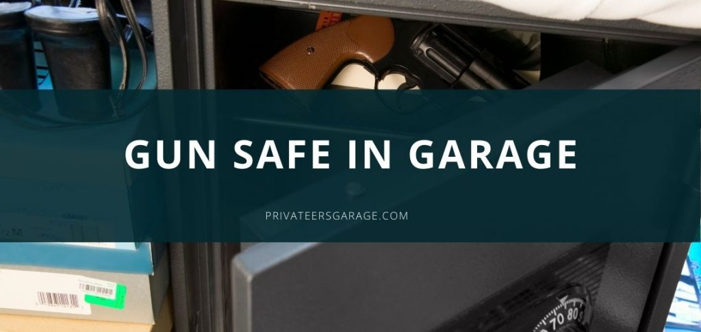 Gun safe in Garage